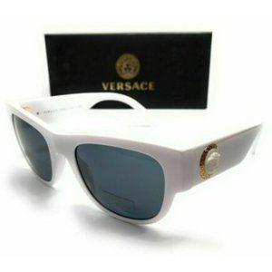 Versace Men's White Pillow Sunglasses!